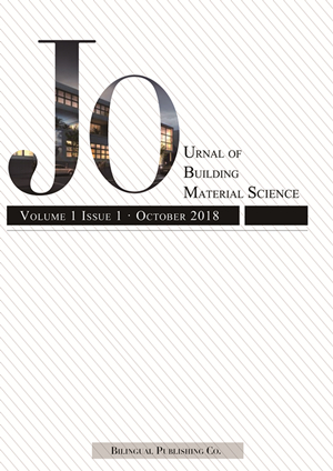Journal of Building Material Science
