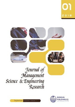 Journal of Management Science & Engineering Research